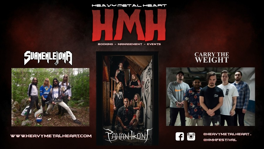 Heavy Metal Heart Agency:n bändit