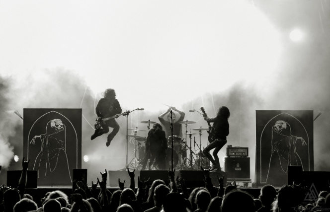 Tribulation at Tuska 2018. Photo by Serena Solomon.